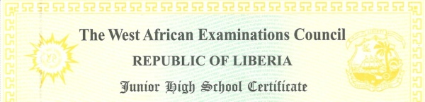 WAEC Certificate